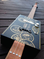 cigar box guitar - Andrew Tatnell